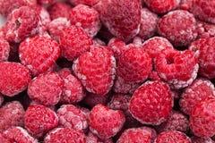 Freezed raspberries Royalty Free Stock Photos