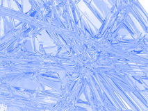 The freezed surface. Royalty Free Stock Image