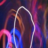 Freezelight abstrakt begreppbakgrund Royaltyfria Bilder