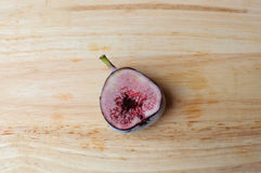 Freezer half Figs fruits Royalty Free Stock Image