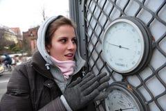 freezing royalty-vrije stock afbeeldingen