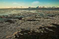 Freezing bay Stock Photography
