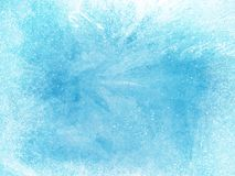 Freezing Blue Background ice cold.  Royalty Free Stock Photos