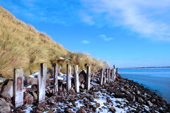 Freezing erosion protection in ireland Royalty Free Stock Photos