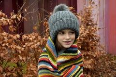 Freezing girl Stock Photos