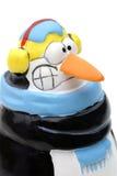 Freezing penguin. Royalty Free Stock Image