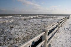 Freezing winter Royalty Free Stock Image