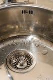 Fregadero de cocina Foto de archivo