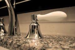 Fregadero del cuarto de baño Fotografía de archivo