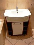 Fregadero del cuarto de baño Foto de archivo libre de regalías