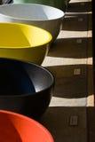 Fregaderos coloridos Imagenes de archivo
