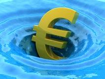 Fregaderos euro ilustración del vector