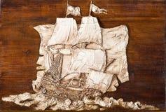 Fregat van Droom Royalty-vrije Stock Foto's