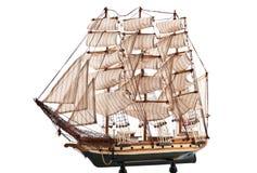 Fregata dei militari della replica Fotografie Stock Libere da Diritti