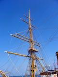 Fregata militare antica Immagini Stock