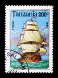 Fregata, serie delle navi di navigazione, circa 1994 Fotografie Stock Libere da Diritti