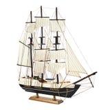 Fregata statku zabawki model Obrazy Stock