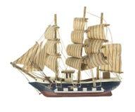Fregata statku zabawki model Zdjęcia Royalty Free
