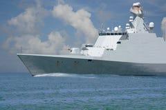 Fregate. Sea patrole. stock images