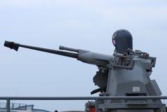 Fregatt stabiliserat vapen Arkivfoton