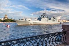 Fregatte-Admiral Makarov Lizenzfreies Stockbild