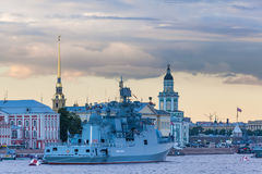 Fregatte-Admiral Makarov Stockfoto