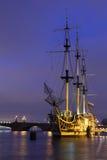 Fregaty gracja Neva Rzeka Petersburg Obrazy Stock