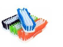 Freghi le spazzole Fotografie Stock Libere da Diritti
