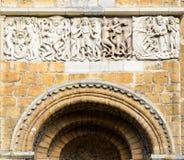 Fregio della cattedrale di Lincoln Immagini Stock Libere da Diritti