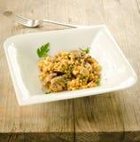 Fregola with clams Stock Photo