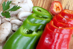 Frehs veggies Stock Image