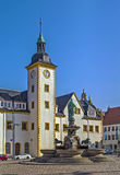 Freiberg town hall, Germany Royalty Free Stock Image