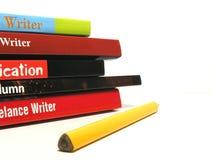Freiberuflicher Schriftsteller (1) Stockbild