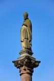 Freiburg, ένα άγαλμα ενός Αγίου Στοκ εικόνα με δικαίωμα ελεύθερης χρήσης