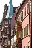 Freiburg. Fassade in the old town of Freiburg in Germany Royalty Free Stock Photo