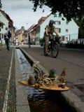 Freiburg Bächle Fotografia de Stock Royalty Free