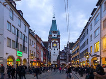 Freiburg City Royalty Free Stock Photography