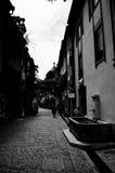 Freiburg gata Arkivfoton