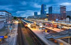 Freiburg Hauptbahnhof railway station, Freiburg im Breisgau, Ger Stock Photo
