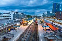 Freiburg Hauptbahnhof railway station, Freiburg im Breisgau, Ger Royalty Free Stock Image