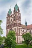 Freiburg Herz-Jesu kościół Zdjęcia Royalty Free