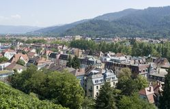 Freiburg Im Breisgau στο θερινό χρόνο Στοκ εικόνα με δικαίωμα ελεύθερης χρήσης
