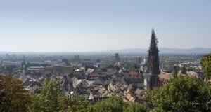 Freiburg im Breisgau aerial view Stock Images