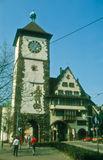Freiburg-im-Breisgau, Duitsland Stock Fotografie