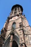 Freiburg Im Breisgau MÃ ¼ nster στοκ εικόνα