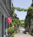 Freiburg im Breisgau street scenery Stock Images