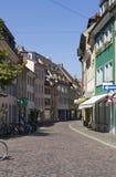 Freiburg im Breisgau street scenery Stock Photo