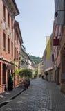 Freiburg im Breisgau street scenery Royalty Free Stock Images