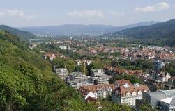 Freiburg im Breisgau at summer time Stock Images