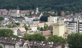 Freiburg im Breisgau at summer time Stock Photo
